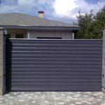 Ворота секционные, раздвижные, Хмельницкий.